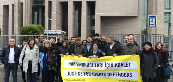 Persecution of human rights defenders in Turkey
